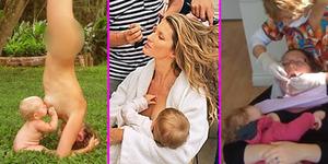 10 Foto Ibu Menyusui yang Kontroversial