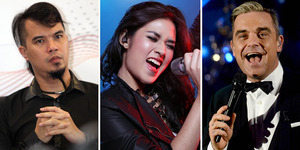 Ahmad Dhani Garap Album Duet Raisa-Robbie Williams?