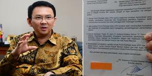 Ahok Kirim Surat Rekomendasi Pembubaran FPI ke Kemendagri dan Kemenhukham