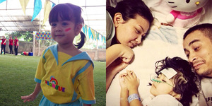 Ashira Shalva, Balita Penderita Neuroblastoma Meninggal Dunia
