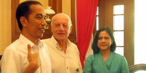 Bernard, Bule Perancis Pemberi Nama 'Jokowi'