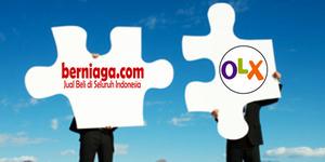 Berniaga.com dan OLX Bergabung