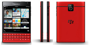 Bocoran Foto BlackBerry Passport Merah