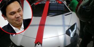 Farhat Abbas Anggap Kado Lamborghini Raffi Ahmad-Nagita Slavina Palsu