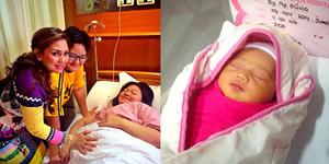 Foto Cucu Pertama Nia Daniati dari Putrinya, Olivia Nathania