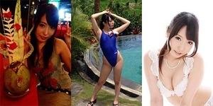 Foto Pemotretan Bintang Porno Jepang Chika Arimura di Bali