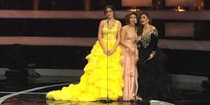 Foto Seksi Jessica Iskandar Pakai Gaun Transparan di Silet Awards 2014