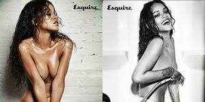 Kali ini, Rihanna Topless di Majalah Esquire