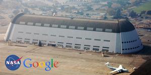 Misi Luar Angkasa, Google Sewa Hangar One NASA