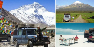 Kisah Petualang Sejati, Gunther Holtorf Kunjungi 215 Negara dalam  26 Tahun