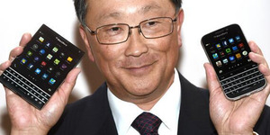 Istri Bos Besar BlackBerry Ketahuan Pakai Samsung