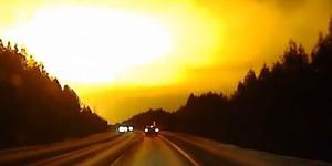 Ledakan Meteor Raksasa Ciptakan Cahaya Besar di Langit Rusia