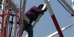 Pelajar SMP Pasuruan Bunuh Diri Dari Tower 80 Meter