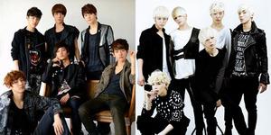Penampilan EXO & B.A.P Diwarnai Aksi Fans Lempar Bra