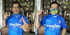 Persib Juara ISL 2014, Ridwan Kamil Gunduli Rambut