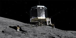 Philae, Pesawat Robotik Sukses Mendarat di Komet