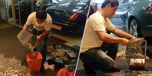 Pria Singapura Bayar Mobil Rp 178 juta dengan Uang Receh Bau Busuk