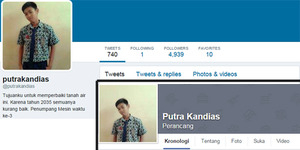 Putra Kandias, Bocah Dari Masa Depan Ini Ramalkan Indonesia