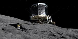 Robot Philae Temukan Tanda-Tanda Kehidupan di Komet