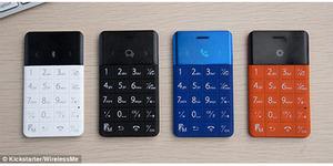 TalKase, Ponsel Mini Seukuran Kartu ATM