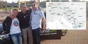 Tiga Sahabat ini Kunjungi 19 Negara Dalam 24 Jam