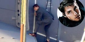 Tanpa Stuntman, Tom Cruise Bergelantungan di Pesawat di Mission Impossible 5