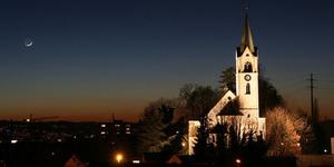 Video Azan Berkumandang di Gereja Swiss