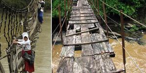 Wah Selain Jembatan Gantung Indiana Jones, Banten Juga Punya Jalan Lord of The Ring