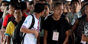 1.400 TKI Bermasalah Ditahan Polisi Malaysia