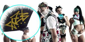 CL & G-Dragon Tampil Keren di MV Skrillex 'Dirty Vibe'