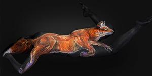 Lukisan Body Painting Luar Biasa Karya Shannon Holt