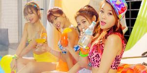 Girlband Baru Korea Terseksi 2014