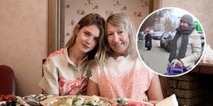 Ibu Model Terkaya Rusia Natalia Vodianova Jualan Kue di Jalanan