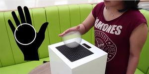 Ilmuwan Ciptakan Proyektor 3D Yang Bisa Diraba