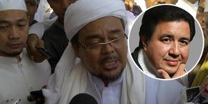 Jelang Natal, Habib Rizieq dan Pendeta Gilbert Bergandengan Tangan