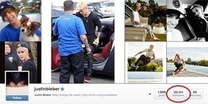 Justin Bieber Kehilangan 3,5 Juta Follower Instagram