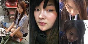 Kisah Pilu Pemulung Cantik di China