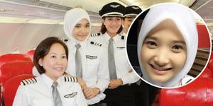 Noor Hafizah Idrus, Pilot Berwajah Imut Jadi Inspirasi Muslimah