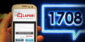 LAPOR, Layanan Aspirasi dan Pengaduan Online Rakyat