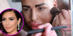 Pria Inggris Ini Operasi Plastik Agar Mirip Kim Kardashian