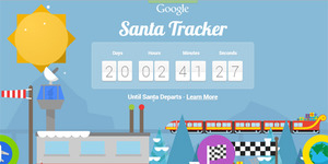 Santa Tracker, Yuk 'Berburu' Sinterklas!