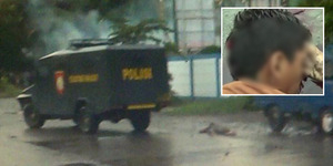 Video Muhammad Arif Tewas Tertembak Bukan Tertabrak Water Canon