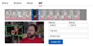 YouTube Hadirkan Fitur GIF Generator dari Video