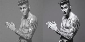 Alat Kelamin Justin Bieber Diperbesar di Iklan Calvin Klein?