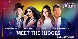 Anggun Jadi Juri Asia's Got Talent Bareng Vanness Wu, Mel C, dan David Foster