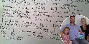 Ayah Sering Pulang Telat, Gadis 6 Tahun Surati Bos Kereta Api
