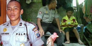 Bripda Taufik dapat Bantuan Rusunawa Dari Bupati Sleman dan Motor dari Ahok