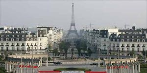 China Bangun Replika Menara Eiffel di Zhejiang