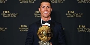 Cristiano Ronaldo Pemenang Ballon d'Or 2014