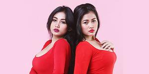 Dada Hot Duo Serigala Jadi Incaran Fans